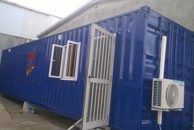 Porta cabin in Nigeria